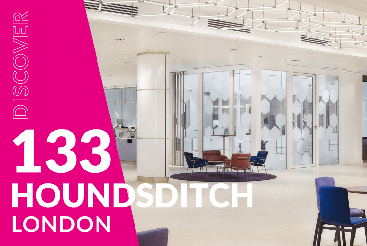 Our newest London conference venue at 133 Houndsditch offers not just great meeting facilities fit for purpose but is designed to inspire too.