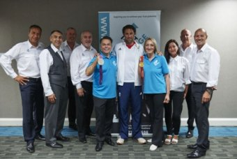 """Sports personalities give clients """"the edge"""" at etc.venues Avonmouth House"""