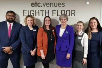 etc.venues' female leadership gets PM's seal of approval.